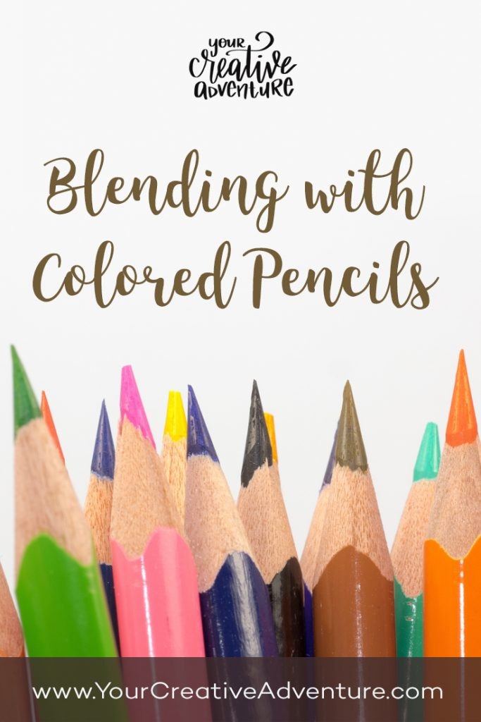 Colored pencils blending fun! Here is a blending with colored pencils tutorial video for you. This is just one way to do it.