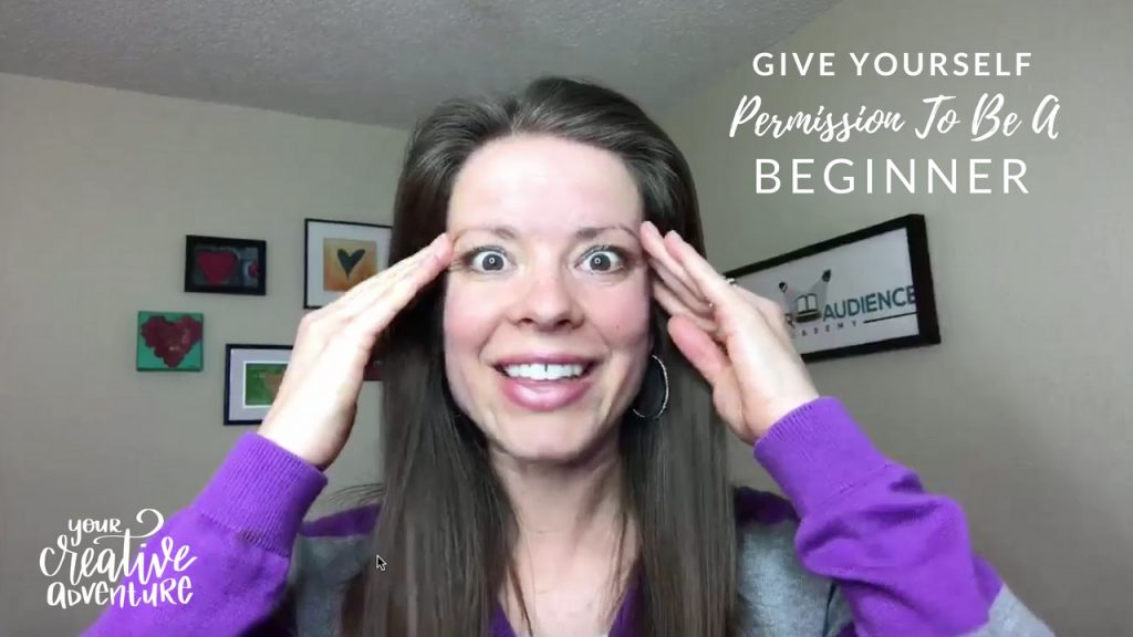 permission to be a beginner
