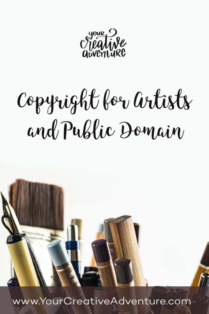 In this post, I'm going to talk about public domain and copyright for artists. Did you know that we cannot legally sell certain quotes on your artwork? I'll share the details with you in this post.