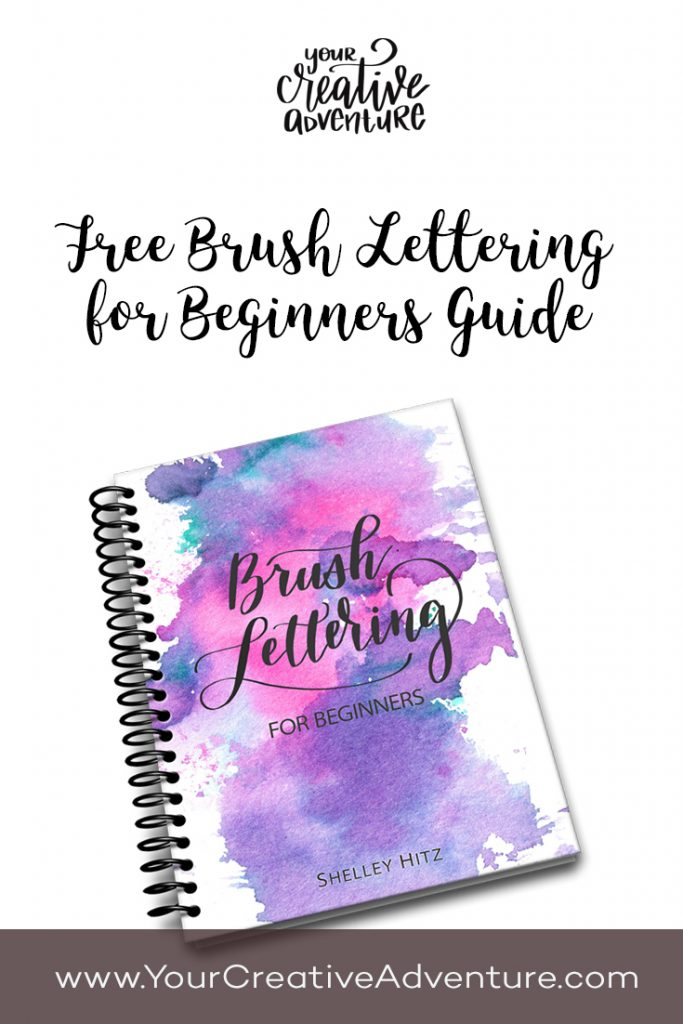 I'm excited to introduce my Brush Lettering for Beginners guide. It's a 10-page PDF that I have poured my heart into to help you learn brush lettering.