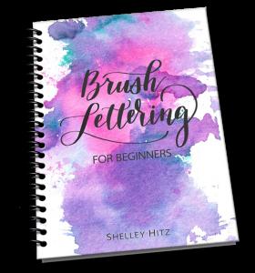 brush lettering for beginners
