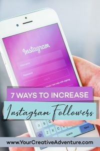 7 Ways to Increase Instagram Followers. Learn these 7 ways to increase Instagram followers. There is no one way that works for everyone, but in this post, I share several Instagram marketing tips that can help you grow your followers. These are Instagram marketing ideas I have personally used to grow my account to over 12.2k followers. I'd love to hear what works for you. #instagrammarketing