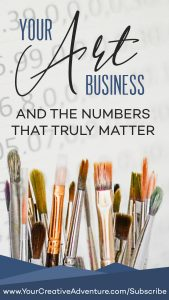 Most of the time, creatives like us shy away from numbers. But numbers are important when it comes to our art business. We need to know the business insights and get familiar with our marketing insights so we can create the best artist business plan. Hold on to your seats because today, we will learn the numbers that truly matter in our art business.