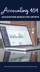 You know what? You don't have to fear looking at the numbers in your art business. Having the know-how of the accounting basics is a great tool for you to understand your business better and to create a better art business plan.