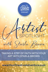 Starla Brown first started lettering and watercolor painting for personal reasons and to strengthen her relationship with God. Now she is taking a step of faith to sell her art and share creativity with more people. Her goal is to glorify God with her art.